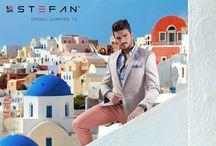 Campaign Spring Summer 15 / Mariano Di Vaio for Stefan in Santorini