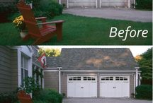 Before & After- Garage Door Transformations / Curb Appeal is the first impression your house makes from the outside. One of the most noticeable aspects of your house is the garage door, taking up to 30% of a home's front view. Take a look at the dramatic transformations of these homes simply by replacing the garage door!