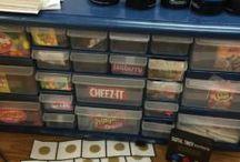 Classroom Organization / Great ideas for organizing