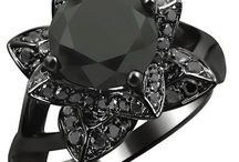 Black Engagement Rings / Carbonado ♦♦♦ Black Diamond Engagement Rings that Rock | Black Diamond Engagement Ring Princess Cut Wedding Bridal Set 14k 18K what are black diamonds, are black diamonds real, are colored diamonds real, what are colored diamonds, are black diamonds expensive, how are black diamonds made, how much are black diamonds worth, are black diamonds valuable, are black diamonds rare, what are black diamonds worth, are black diamonds natural