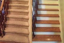 Before & After / See how hardwood flooring can transform your home.