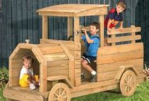 AA Wooden Vehicles