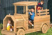 AA Wooden Vehicles