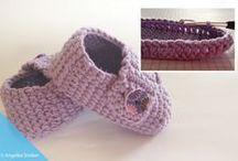 babyschuhe lila