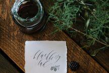 Wedding Calligraphy //