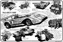 Performance Cars Pencil Inspiration