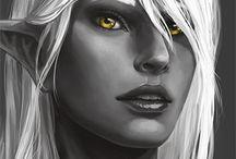 ELF (Drow) • Female
