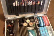Organização de maquiagens