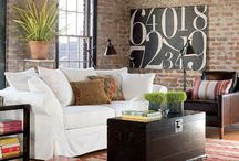 Pottery Barn Brick Walls