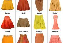 modelo de saias
