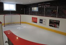 Synthetic Ice Rink