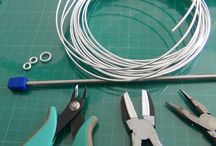 tuto wire fil d'aluminium  wrapping wire tutorials