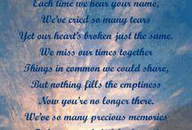 Missing you... / by Lisa Krutsinger Sumner