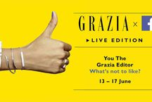 Grazia X Facebook / We're LIVE on Facebook this week- find out how you can get involved here- http://lifestyle.one/grazia/news-real-life/in-the-news/grazia-live-facebook-issue/  Like us at @graziauk so you don't miss out on any of the action... / by Grazia UK