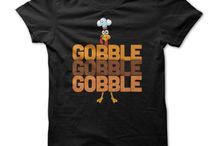 Fall Fashion: Thankgiving T-Shirts / Coordinate your outfit with a Thanksgiving T-shirt. You'll find the perfect look to match all the pants in your wardrobe. So whether you're working out or just enjoying a casual day, browse the incredible selection for the perfect t shirt to suit your personal taste!