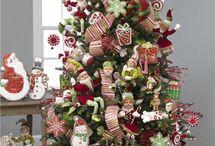decoración de navidad árboles