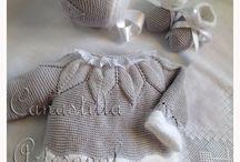 Děti - pletení, háčkování,...