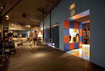 aménagement salle fitness