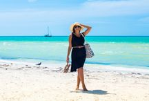 Vacay Beach Bag / Our black and white beach bag comes free with any purchase of 5 or more items.