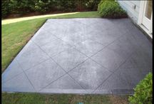 Existing concrete walkway ideas
