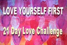 """21 Day Love Challenge / Do you want to meet the love of your life? Look in the mirror- Byron Katie  How often do you look in the mirror and say I love you? Once a day? Maybe more? Or never? I have a heart with the words I love you stuck to the mirror in my bathroom and I am guilty of not standing there and actually saying daily  """" I love you""""  Come and join in and give yourself a love boost"""