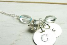 Jewelry Ideas / There's some great things you can do in silver clay and in glass!