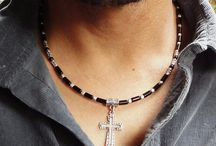 men's collar necklace