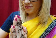 Indian style mehendi mehndi