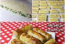 Çıtır peynirli börek