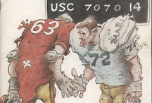 USC vs. Notre Dame / USC Trojans / Fighting Irish of Notre Dame - - - Best in college football - could it get any better than this? / by Geezer .