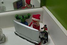 Elf on a shelf- Elfie Fulton / by Toni Quin