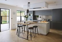 Kitchen Architecture bulthaup - Timeless living / Kitchen Architecture - bulthaup b3 furniture in grey aluminium and gravel laminate with 10mm stainless steel and laminate worktops.