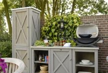 outdoor cupboards