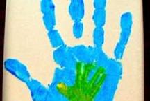 Knutsels / Ideeën om zelf te maken of met kids te knutselen.