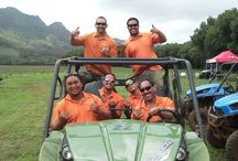 Our Guides are the GREATEST! / Here at Kipu Ranch Adventures we have some of the best guides around. They are very knowledgeable about our machines and the history of Kipu Ranch. If you have any questions they will know the correct answer! - also be ready for a laugh or two when you are around them!