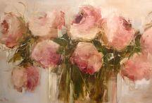 Malarstwo kwiaty