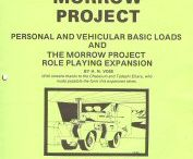 Old School RPG's Rock:The Morrow Project