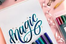 all about Calligraphy and hand lettering