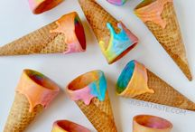 Cornets de crème glacée