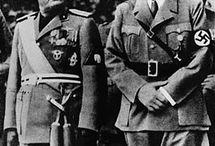 Nazismo, Fascismo. La misma mierda distintos nombres. / Nazismo es la contracción de la palabra alemana Nationalsozialismus, que significa nacionalsocialismo, y hace referencia a todo lo relacionado con la ideología y el régimen que gobernó Alemania de 1933 a 1945 con la llegada al poder del Partido Nacionalsocialista Alemán de los Trabajadores de Adolf Hitler.
