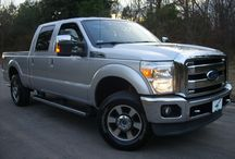 2011 Ford F-250 Lariat Truck Crew Cab For Sale at The Auto Finders Dealership in Durham NC