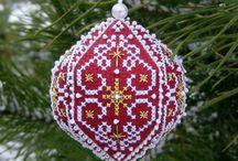 Korssting Jul pynt