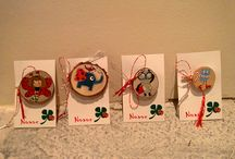 spring crafts draw inspired / The drawings were inspired from pinterest.