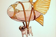 Pugs, I am obsessed apparently  / by Stevie Phelps