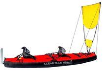 kayak with sail