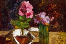 Paintings of Flowers I KIESELBACH