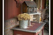 Cabin Porch / by Linda Spray