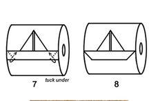 origami wc-papper
