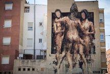 borondo in Spain streetart
