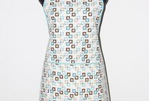 Aprons / Beautiful aprons. Butterfly apron, blue flowers apron